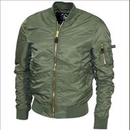 US Airforce Jacke MA1 oliv